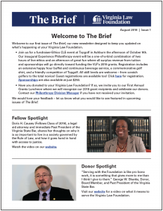 The Brief: Issue One